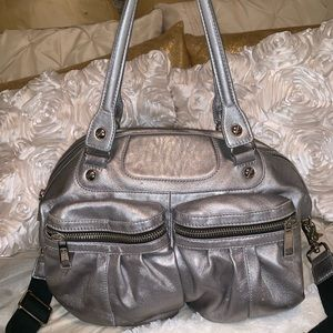 L.A.M.B. Metallic Handbag